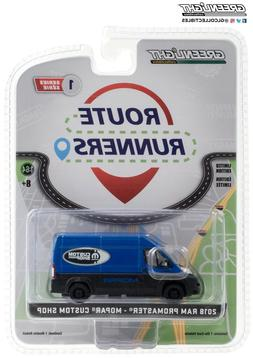 Greenlight 1/64 Route Runners 2018 Ram ProMaster High Roof -