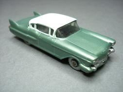 Matchbox LESNEY # 27 CADILLAC SIXTY SPECIAL--Met.GREEN/OFF W